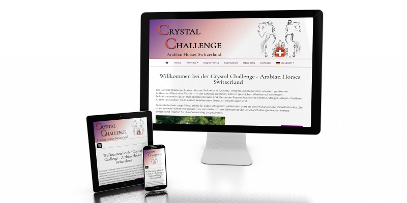 NEW Website Crystal Challenge